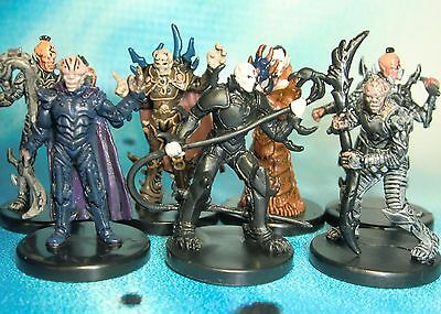 Star Wars Miniatures Lot  Yuuzhan Vong Jedi Hunter Vong Warrior !!  s97