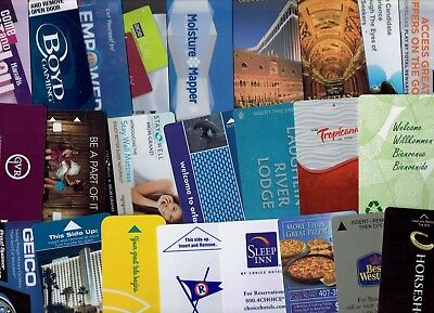 LOT of 24 HOTEL Room KEY Cards - some Las Vegas Casino - All Diff ~ I Combine