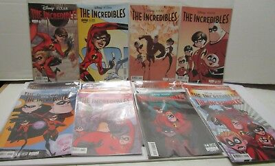 2010 Boom Kids Disney Pixar The Incredibles Comic Book Lot ***excellent***