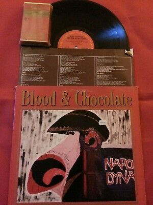 "Elvis Costello ""Blood & Chocolate"" Vinyl LP and Rare OOP HTF Recalled Cassette!!"