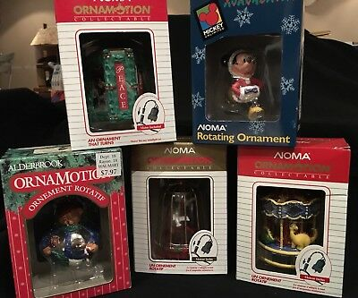 Noma Ornamotion Vintage Christmas Ornament Choice Of 4 Styles