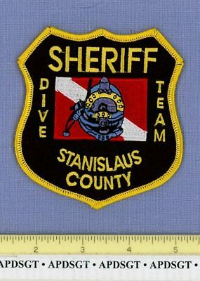 STANISLAUS COUNTY SHERIFF SAR SCUBA DIVE SEARCH & RESCUE CALFORNIA Police Patch