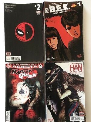 Lot A Of 50 Mixed Modern Comics, Marvel DC Image Indie, #1's, Variants See Pics!