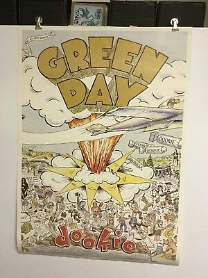 """Green Day """"dookie"""".   UK poster"""
