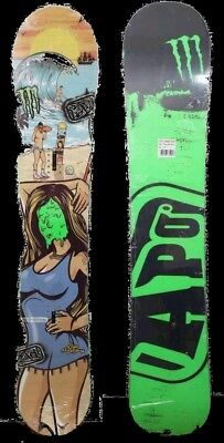 Brand new Monster Energy Limited edition Snowboard Size 157 RRP$700