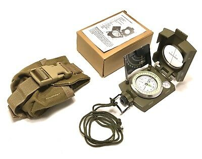 Compass, Military Reconnaissance Lensatic Compass OD Green