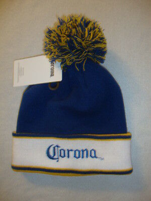 Corona Beer  Adult Toque Nwts Soft & Warm Knit