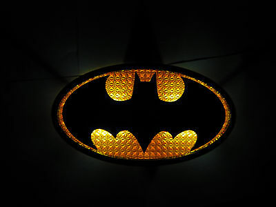 DreamEX Batman Motion Sensor Wall Lamp LED night light DC Licensed dual mode NEW
