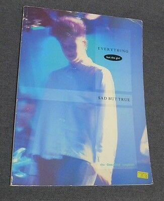 Everything But The Girl Sad But True Songbook Guitar Piano HTF 1985 32 Songs OOP