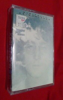 John Lennon Imagine Cassette Digitally Re-mastered New C4 46641 Plastic Ono Band