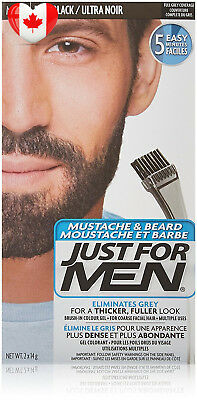 Just for Men Mustache and Beard Real Black