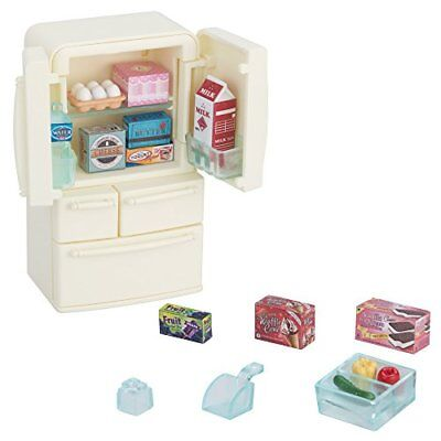 Sylvanian Families furniture refrigerator set five-door