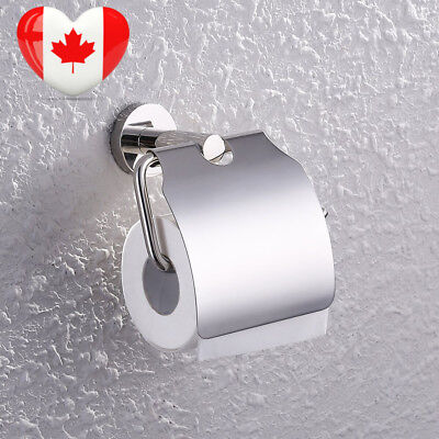 KES A2170 Stainless Steel Toilet Paper Holder Single Roll with Cover,...