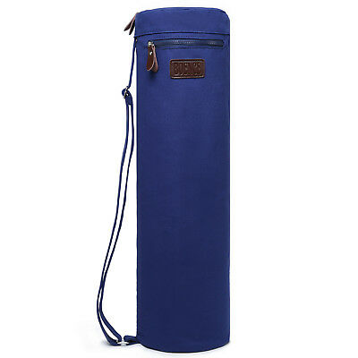 "Boence Yoga Mat Bag Fitness Sport Canvas Yoga Mat Carrier Yoga Bag - 27"" D x 7""L"