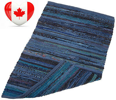 DII Home Essentials 20x31.5-inches Cotton Rag Rug for Kitchen, Livingroom,...