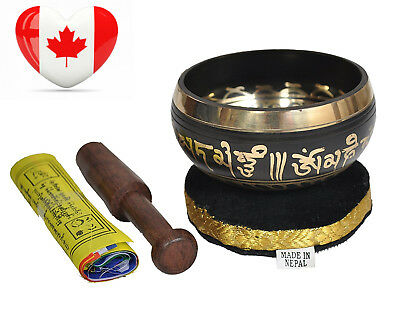 Dharma Store - Tibetan Meditation Singing Bowl for Relaxation and Healing...
