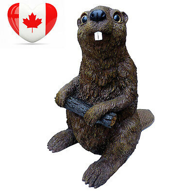 Michael Carr Designs 80040 Beaver Outdoor Statue, Large