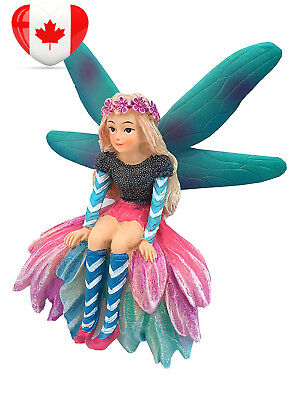 Katrina the Fairy – a Miniature Statue for Your Garden Figurines by GlitZGlam