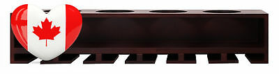 nexxt Claret Wine Bottle and Glass Holder Wall Shelf, 21-Inch by 4.25-Inch,...