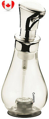 Cuisipro 83758000 13.2-Ounce Foam Pump, Clear/Silver