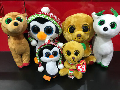 TY Beanie Boo 2017 Christmas Special Pack. New with tags Free ship
