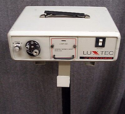 Luxtec Xenon SUPER CHARGED Series 9000 Model 9300 Light Source Endoscopy