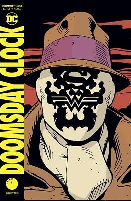 Doomsday Clock 1 Lenticular Variant Nm Watchmen
