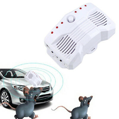 Car Electronic Ultrasonic Anti Mosquito Rat Mouse Pest Control Repeller DC9-24V