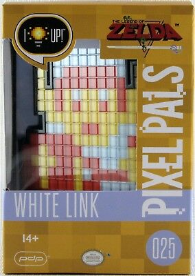 Pixel Pals 025 White Link - Brand New and Sealed - The Legend of Zelda Nintendo