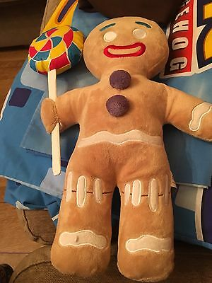 "Universal Studios Shrek 4D 12""Gingerbread Man Soft toy"