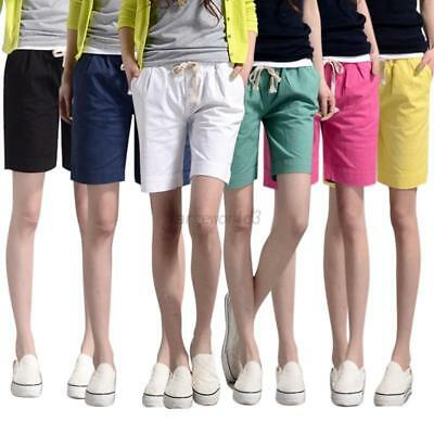 Fashion Women's Hot Pants Casual Shorts High Waist Beach Sports Short Pant M-3XL