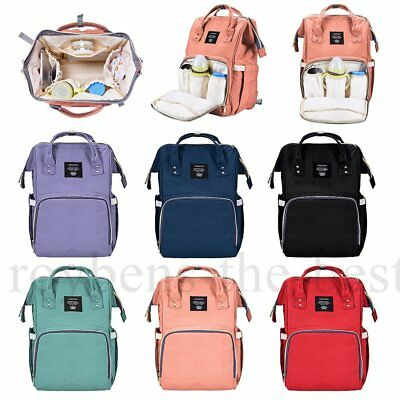 Fashion Large Mummy Maternity Nappy Diaper Bag Baby Bag Travel Backpack Popular