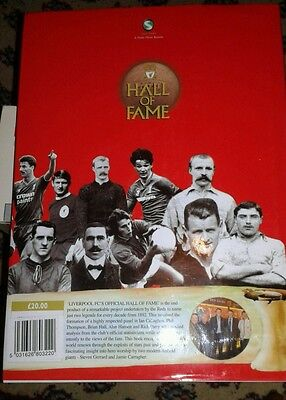 the official LIVERPOOL FC hall of fame book
