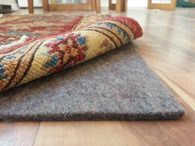 Rug Pad Central 8' x 11' 100% Felt Rug Pad Extra Thick- Cushion Comfort and P...