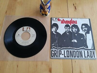 "The Stranglers Dutch / Holland Grip EXTENDED VERSION 7"" Ultra Rare"