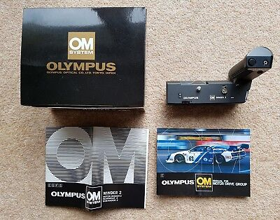 OLYMPUS  Winder 2 OM Boxed & Good Condition.fits OM 1,2,3,4,10 20,and 30 etc etc