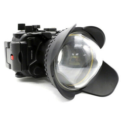 Meikon 40M Diving Case + Fisheye Wide Angle Dome Port For Canon G7X-II 24-100mm