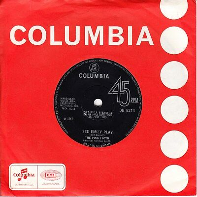 The Pink Floyd *see Emily Play/ Scarecrow* 1967 Uk Solid Centre  Psych
