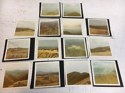Vietnam Photograph Pictures Album Fire Base Lot A x14 War Scene Forward Hill Top