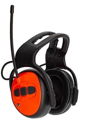 Husqvarna Arborist Ear Defenders Muffs With Fm Radio 578 27 49-01 Mp3 Also