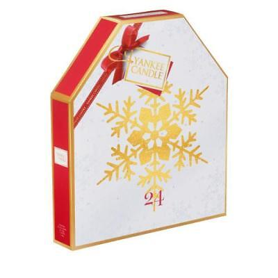 Yankee Candle  Gold Snowflake NEW Advent Calendar FREE P&P