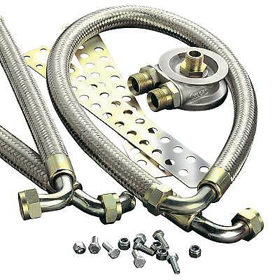 Mocal Oil Cooler Installation Kit Stainless Overbraid Hose For Peugeot 205 GTI