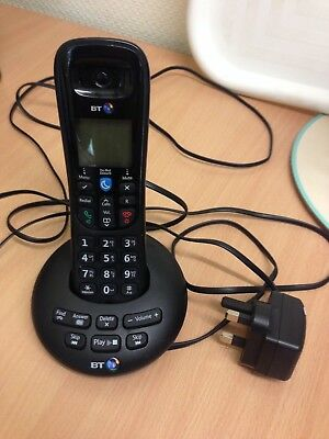 Bt Bt3570 Single Digital Cordless Telephone With Answer Machine