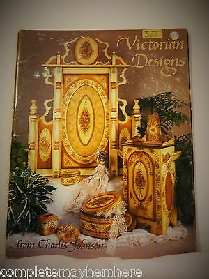 Victorian Designs from Charles Johnson- tole painting