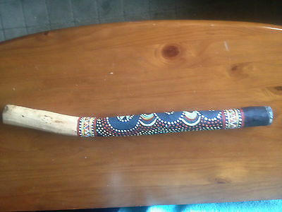 "Lovely Highly Deocrated Digeridoo 24"" Long"