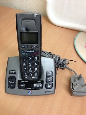 Bt Freestyle 750 Digital Cordless Telephone With Answer Machine