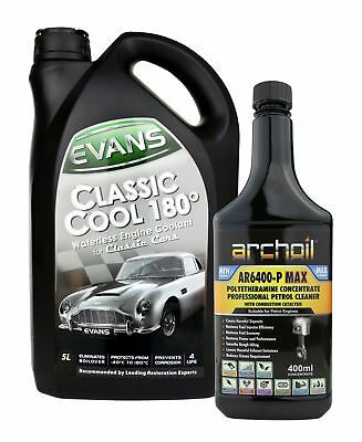 Evans Classic Cool 180 - 5 Litres, Waterless Engine Coolant / Antifreeze
