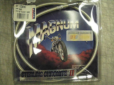 """Magnum Sterling Chromite Glo Brake Cable - Yellow - 40"""""""