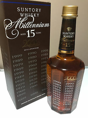 Suntory Millenium 15 Year Old Japanese Whisky