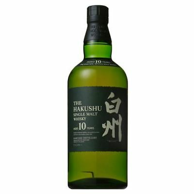 Suntory Hakushu 10 Year Old Single Malt Japanese Whisky 700ml